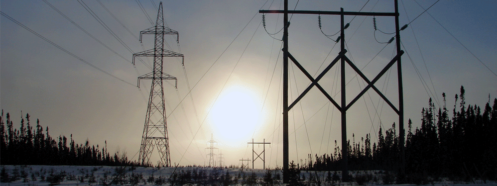 Electric distribution grid 60 km from the project.
