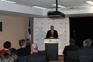 Mayor of Lebel-sur-Quevillon and President of the Administration régionale Baie-James (ARBJ), Mr. Alain Poirier: