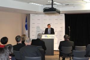 Chairman of the Board of the Société de développement de la Baie-James (SDBJ), Mr. Gaston Bédard: